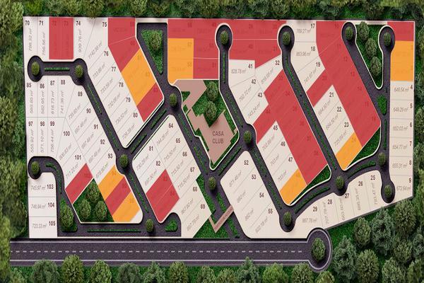 Foto de terreno habitacional en venta en el cortijo, hacienda residencial , dzibilchaltún, mérida, yucatán, 3606687 No. 01