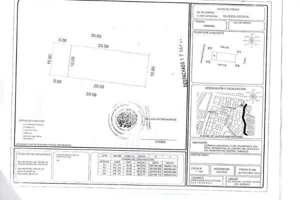 Foto de terreno habitacional en venta en  , el country, centro, tabasco, 7988720 No. 01