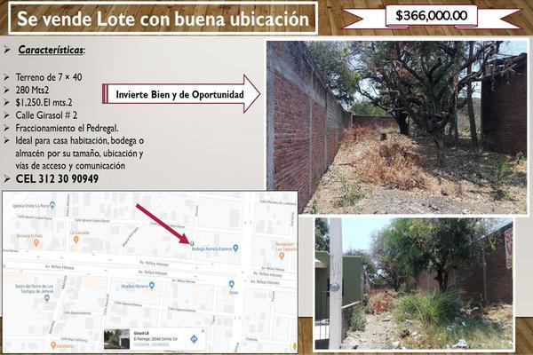 Foto de terreno habitacional en venta en el girasol 2, el diezmo, colima, colima, 0 No. 02
