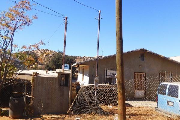 Foto de terreno habitacional en venta en  , el mirador, tecate, baja california, 6207443 No. 01