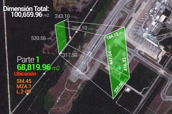 Foto de terreno habitacional en venta en  , alfredo v bonfil, benito juárez, quintana roo, 8322068 No. 02