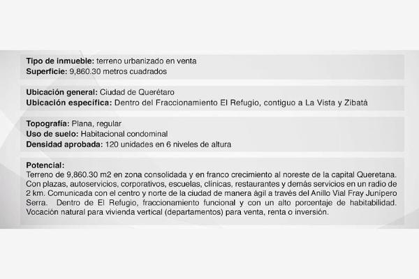 Foto de terreno habitacional en venta en el refugio , villas del refugio, querétaro, querétaro, 9951175 No. 09