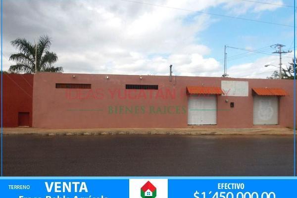 Foto de terreno comercial en venta en  , el roble, mérida, yucatán, 2627485 No. 01