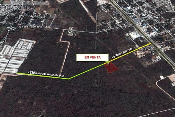 Foto de terreno habitacional en venta en  , el roble, mérida, yucatán, 8085907 No. 01