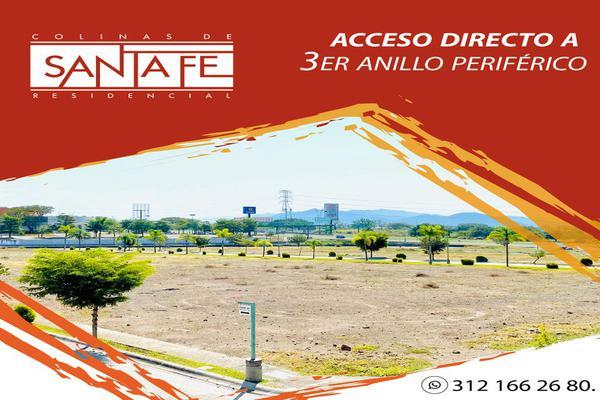 Foto de terreno habitacional en venta en el vizcaíno , colinas de santa fe, colima, colima, 17171566 No. 01