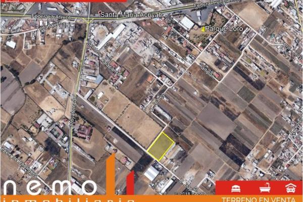 Foto de terreno habitacional en venta en emiliano zapata 1132, san antonio cacalotepec, san andrés cholula, puebla, 8852424 No. 01