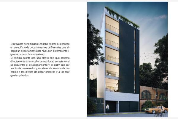 Foto de departamento en venta en emiliano zapata 61, portales norte, benito juárez, df / cdmx, 8843867 No. 02