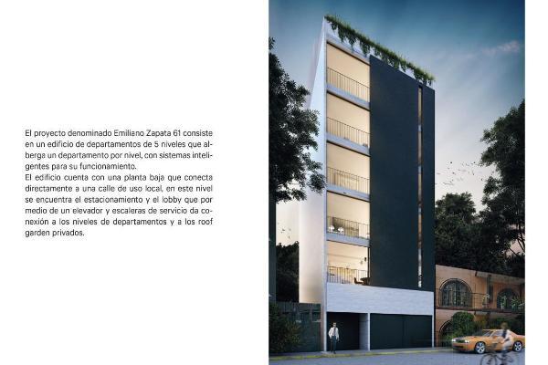Foto de departamento en venta en emiliano zapata , portales norte, benito juárez, df / cdmx, 8825608 No. 03