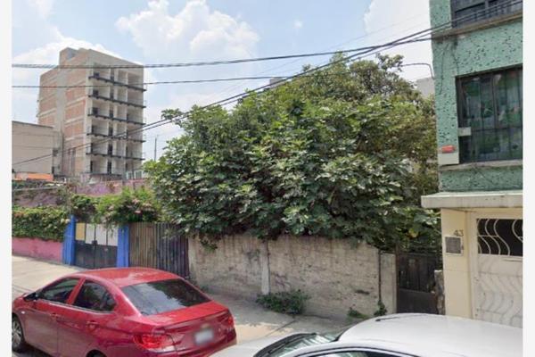 Foto de terreno habitacional en venta en emperadores 43, portales oriente, benito juárez, df / cdmx, 20157883 No. 01