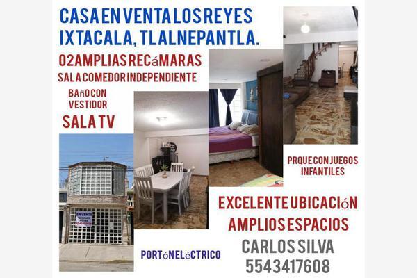 Foto de casa en venta en encino 86, los reyes ixtacala 2da. sección, tlalnepantla de baz, méxico, 0 No. 01
