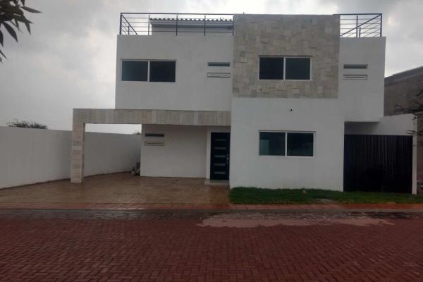 Foto de casa en venta en encino, cond. cipres , residencial el parque, el marqués, querétaro, 14022649 No. 01