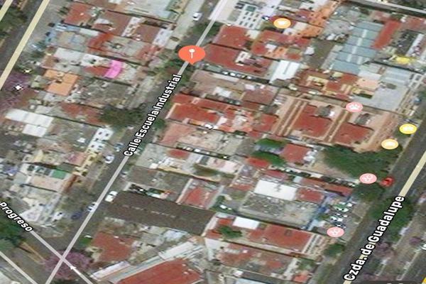 Foto de terreno habitacional en venta en escuela industrial , industrial, gustavo a. madero, df / cdmx, 17844060 No. 01