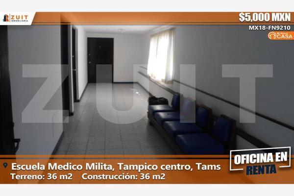 Foto de oficina en renta en escuela medico militar 311, tampico centro, tampico, tamaulipas, 6158268 No. 01