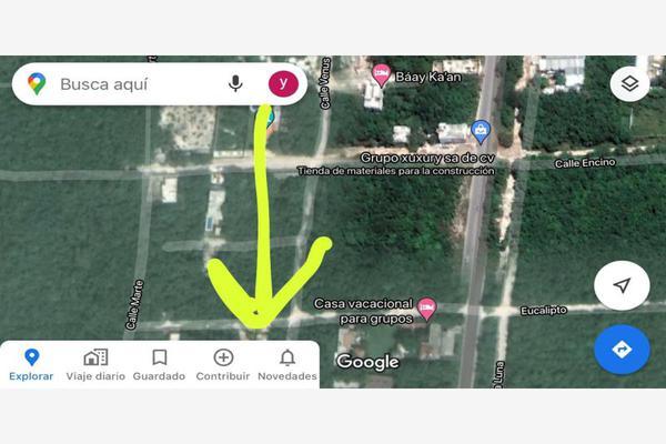 Foto de terreno habitacional en venta en eucalipto 0, álamos i, benito juárez, quintana roo, 0 No. 09