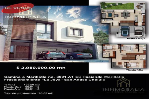 Foto de casa en venta en  , ex-hacienda concepción morillotla, san andrés cholula, puebla, 8298466 No. 02