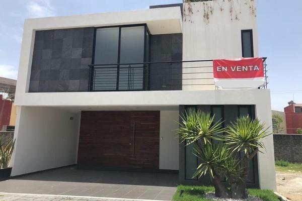 Foto de casa en venta en  , ex-hacienda la carcaña, san pedro cholula, puebla, 8103307 No. 01