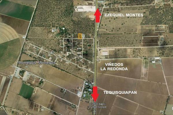Foto de terreno habitacional en venta en ezquiel montes s/n , centro, cadereyta de montes, querétaro, 12014642 No. 04