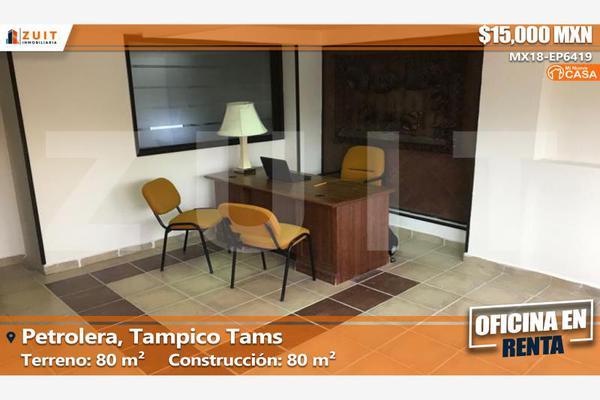 Foto de oficina en renta en faja de oro 210 altos, petrolera, tampico, tamaulipas, 5307166 No. 01