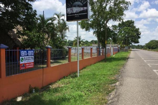 Foto de terreno habitacional en venta en federal cunduacan 22, cunduacan centro, cunduacán, tabasco, 3682952 No. 01