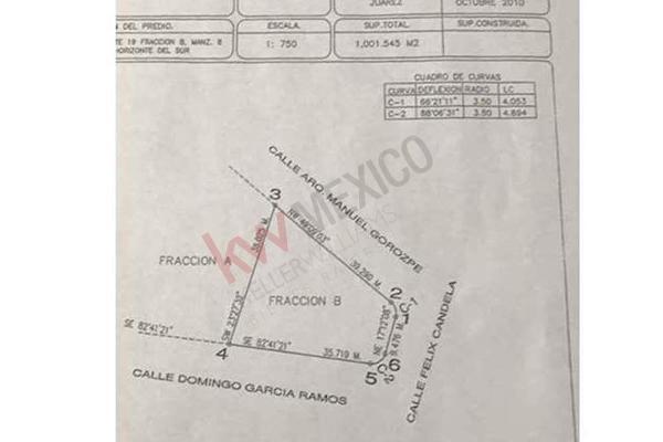 Foto de terreno habitacional en venta en felix candela , horizontes del sur etapa ii, juárez, chihuahua, 13311552 No. 03