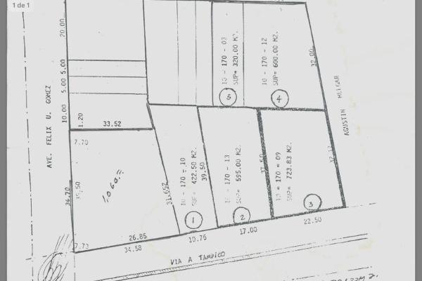 Foto de terreno comercial en venta en félix u gómez y via tampico 100, reforma, monterrey, nuevo león, 3093556 No. 01