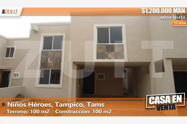 Foto de casa en venta en fernando montes de oca 307, niños héroes, tampico, tamaulipas, 5954086 No. 01