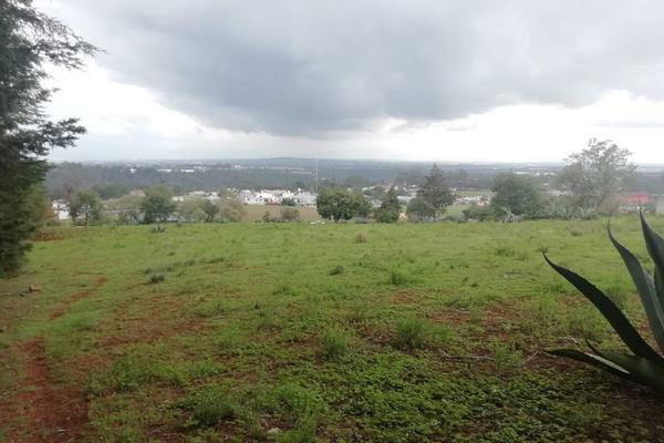 Foto de terreno habitacional en venta en  , ferrería de apulco, metepec, hidalgo, 7659593 No. 12