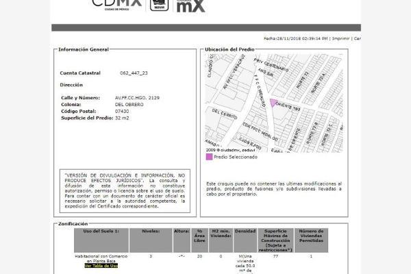 Foto de departamento en venta en ferrocarril hidalgo 2129, del obrero, gustavo a. madero, df / cdmx, 6155870 No. 06