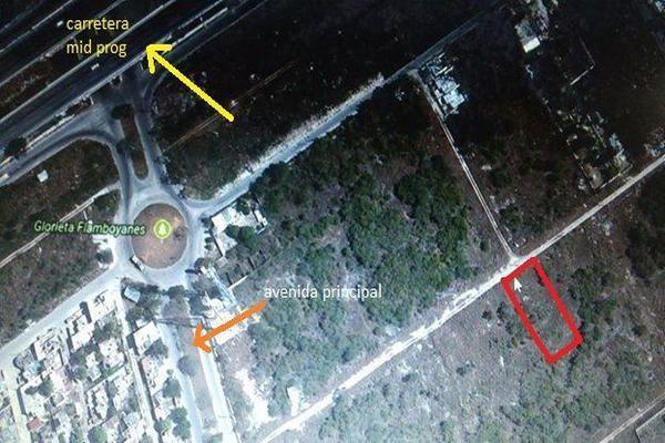 Foto de terreno habitacional en venta en  , flamboyanes, progreso, yucatán, 14028275 No. 01