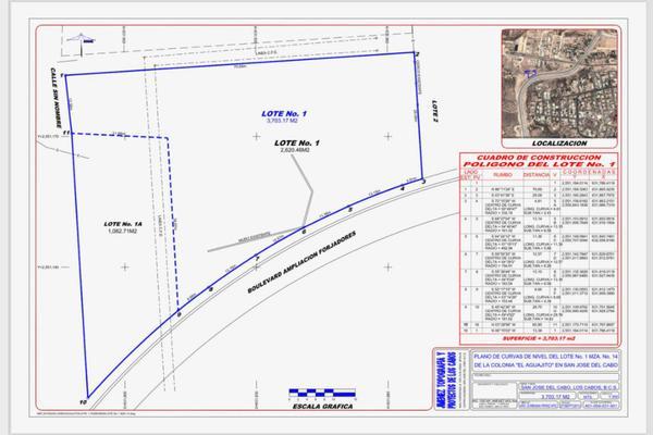 Foto de terreno habitacional en venta en forjadores aguajitos lote 1 , manzana 14 0 , san josé del cabo (los cabos), los cabos, baja california sur, 7205308 No. 03