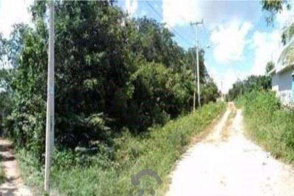 Foto de terreno habitacional en venta en fraccionamiento ixchel , ixchel, benito juárez, quintana roo, 16842026 No. 03