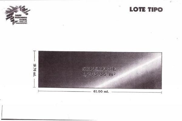 Foto de terreno habitacional en venta en fraccionamiento ixchel , ixchel, benito juárez, quintana roo, 16842026 No. 07