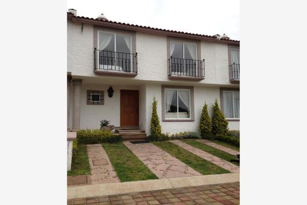 Foto de casa en venta en fraccionamiento pinares de santiago, calle niños héroes #109 , santiago tlaxomulco centro, toluca, méxico, 0 No. 01