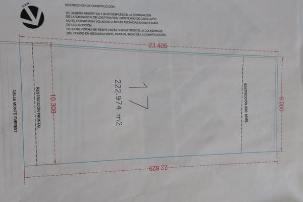 Foto de terreno habitacional en venta en  , fraccionamiento río bonito, hermosillo, sonora, 7941531 No. 01