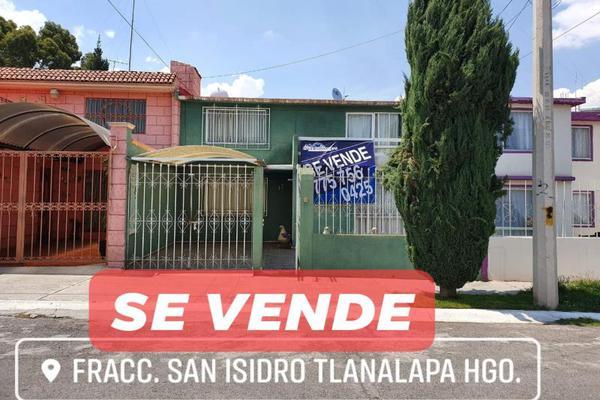 Foto de casa en venta en fraccionamiento san isidro, rancho o rancheria san isidro, tlanalapa 0, san isidro, tlanalapa, hidalgo, 8115507 No. 01