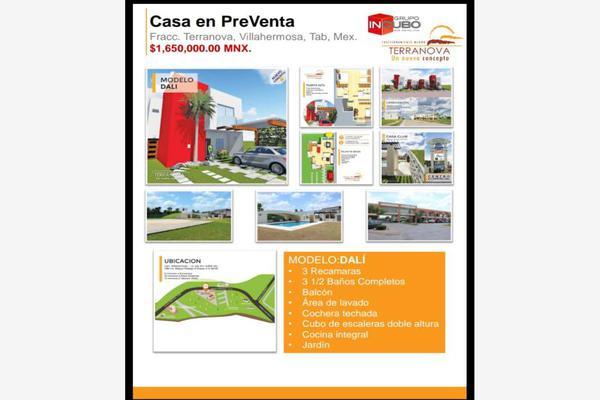 Foto de casa en venta en fraccionamiento terranova 2, miguel hidalgo, centro, tabasco, 5692010 No. 03