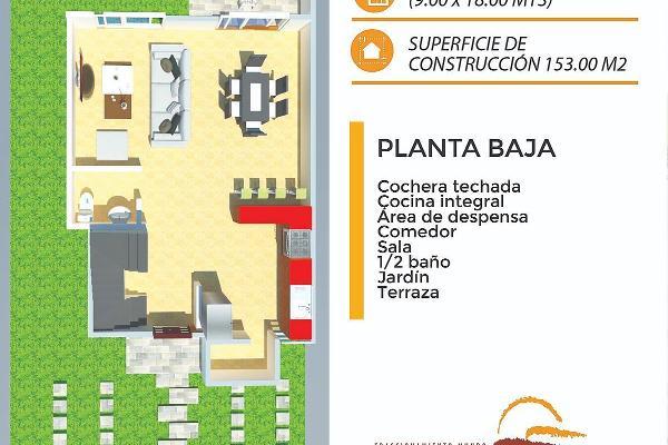 Foto de casa en venta en fraccionamiento terranova , miguel hidalgo, centro, tabasco, 5664637 No. 04