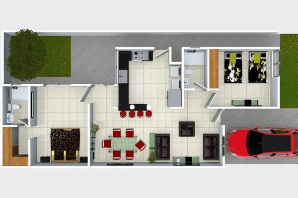 Foto de casa en venta en  , fraccionamiento villas del renacimiento, torreón, coahuila de zaragoza, 4213743 No. 02