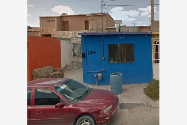 Foto de casa en venta en francisco galarza 8903, universidad, juárez, chihuahua, 8844134 No. 01