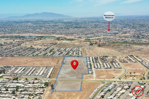 Foto de terreno habitacional en venta en francisco javier del castillo , vista del valle, mexicali, baja california, 20760297 No. 06