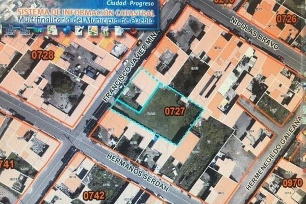 Foto de terreno habitacional en venta en francisco javier mina , guadalupe hidalgo, puebla, puebla, 6164143 No. 01