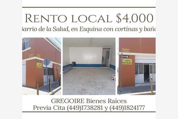 Foto de local en renta en francisco melchor 121, la salud, aguascalientes, aguascalientes, 9259580 No. 01