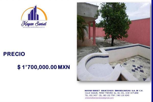Foto de casa en venta en francisco zarco 88, adolfo lópez mateos, othón p. blanco, quintana roo, 5673975 No. 06