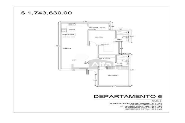 Foto de departamento en venta en francisco zarco , alamitos, san luis potosí, san luis potosí, 9130750 No. 06