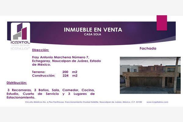 Foto de casa en venta en fray antonio marchena 7, bosque de echegaray, naucalpan de juárez, méxico, 6131010 No. 01