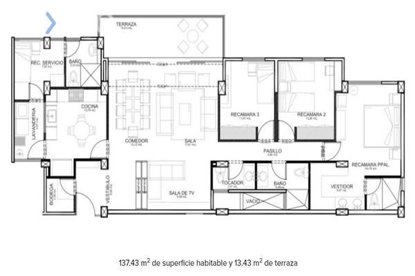 Foto de departamento en venta en fray junipero serra 12296, residencial el refugio, querétaro, querétaro, 7481506 No. 22