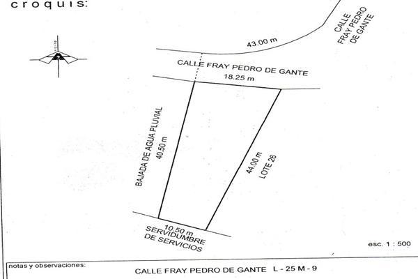 Foto de terreno habitacional en venta en fray pedro de gante , lomas del pedregal, irapuato, guanajuato, 7187552 No. 02