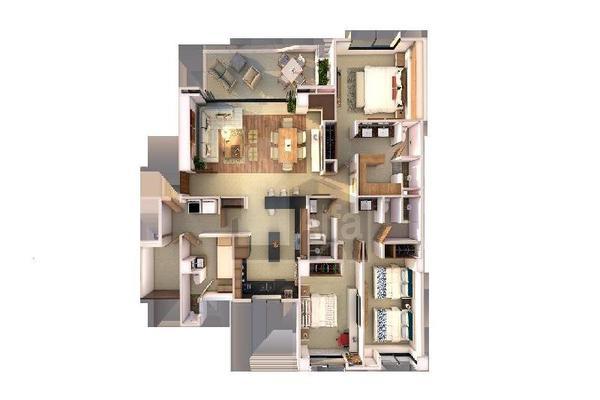 Foto de departamento en venta en fuente de la amistad , residencial cumbres, benito juárez, quintana roo, 9133929 No. 38