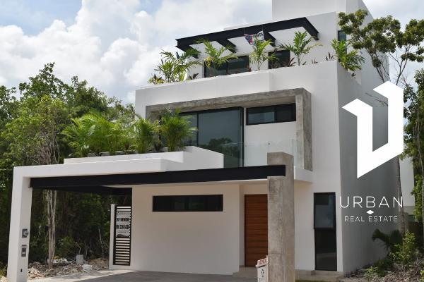 Foto de casa en venta en fuentes de ceres , supermanzana 52, benito juárez, quintana roo, 14027025 No. 01