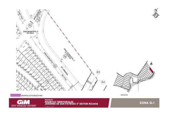 Foto de terreno habitacional en venta en  , fuentes de santa lucia, apodaca, nuevo león, 17637117 No. 02